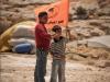 Флаг отколовшейся части компартии Палестины:
