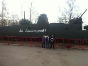 Кубинка - бронепоезда